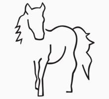 Black horse by Designzz