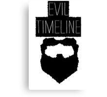 Evil Timeline Canvas Print