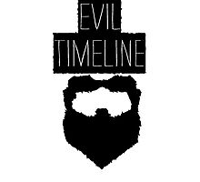 Evil Timeline Photographic Print