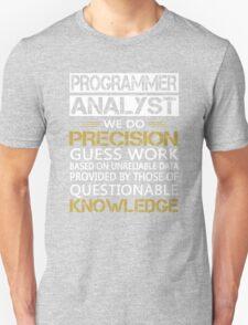 Programmer Analyst T-Shirt