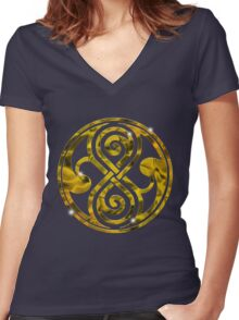 SEAL OF THE HIGH COUNCIL Women's Fitted V-Neck T-Shirt
