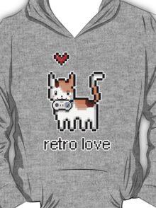 8 bit retro kitty T-Shirt