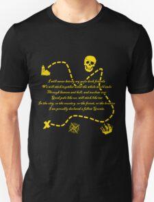 Goonies Oath Gold Unisex T-Shirt