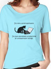 I'm Not a Procrastinator - Cat Women's Relaxed Fit T-Shirt