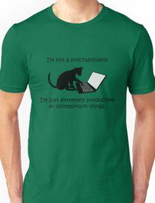 I'm Not a Procrastinator - Cat Unisex T-Shirt