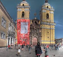 Iglesia de San Francisco - Lima, Peru by Edith Reynolds