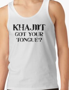 Khajiit 2 Black for low necked T-Shirt
