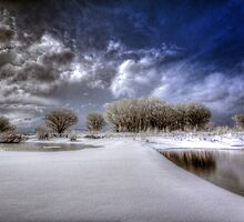 Snow Bridge by Bob Larson