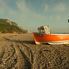 Branscombe Boat  by Rob Hawkins