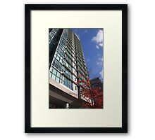 High Rise, Downtown Vancouver Framed Print