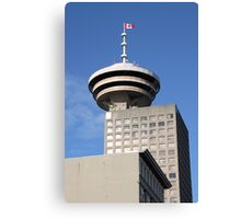 Vancouver Tower & Observation Deck Canvas Print