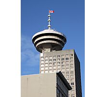 Vancouver Tower & Observation Deck Photographic Print