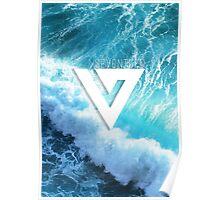 Seventeen - Ocean Logo Poster