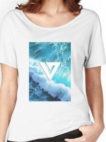 Seventeen - Ocean Logo Women's Relaxed Fit T-Shirt