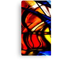 Abstract Colors Oil Painting 93 Canvas Print