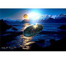 UFO Crash Landing Photographic Print