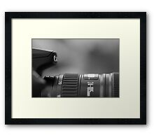 canon EOS 70D camera Framed Print