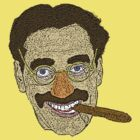 Groucho Marx by CultureCloth