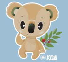 Koa Koala  One Piece - Short Sleeve