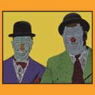Laurel and Hardy by CultureCloth