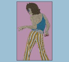 Mick Jagger Rolling Stones by CultureCloth