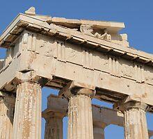 Alternate Parthenon View by Emma Holmes