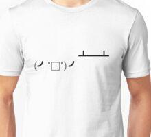 Flipping Tables Unisex T-Shirt