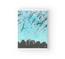 Springtime in the city  Hardcover Journal