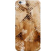 Flight Traffic Burned Rust iPhone Case/Skin