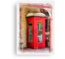 Ye Olde Phone Box Canvas Print