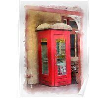 Ye Olde Phone Box Poster