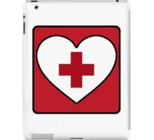 Get Well Soon, Red Cross, First Aid, Sexy Nurse, Heart,  iPad Case/Skin