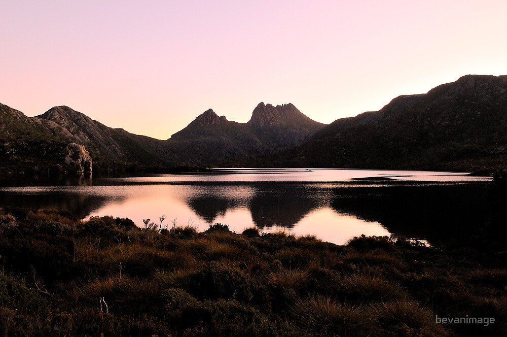 Serenity lake, Cradle Mountain Tasmania by bevanimage