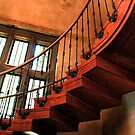 Curving Stairs by ZWC Photography