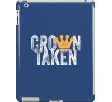 Crown Taken iPad Case/Skin