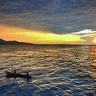 Sunset.Lake Tanganyika by Gideon du Preez Swart