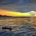 Sunset.Lake Tanganyika by Gideon du Preez Swart
