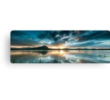 Lake Moogerah Sunset Canvas Print