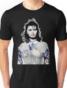 """Title: """"Sexiness Comes From Within"""", Boy on a Dolphin, Sophia Loren, Inspired Earth Girl, Woman Unisex T-Shirt"""
