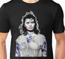 "Title: ""Sexiness Comes From Within"", Boy on a Dolphin, Sophia Loren, Inspired Earth Girl, Woman Unisex T-Shirt"