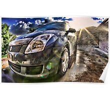 Car Wash Poster