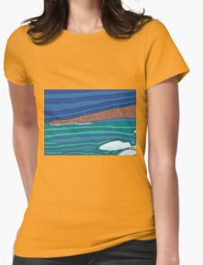 The Water Womens Fitted T-Shirt