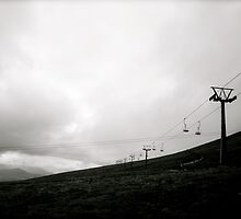 Mountain Top Chair Lift by Julian Bailey
