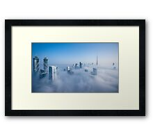 Cloud City Framed Print