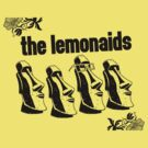 The Lemonaids - Tiki Head (black print) by misoramen
