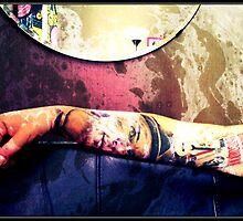 Frank Sinatra. Tattoo. by Katerina Maslovskaya