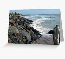 Seven Mile Beach - Lennox head NSW Greeting Card