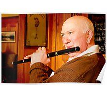 Flute Player/Musician  Poster