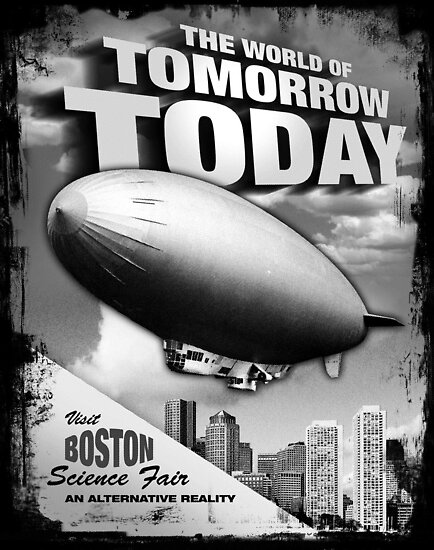 The World of Tomorrow. Today. by robotrobotROBOT