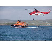 RNLI & Coast Guard Demo Photographic Print